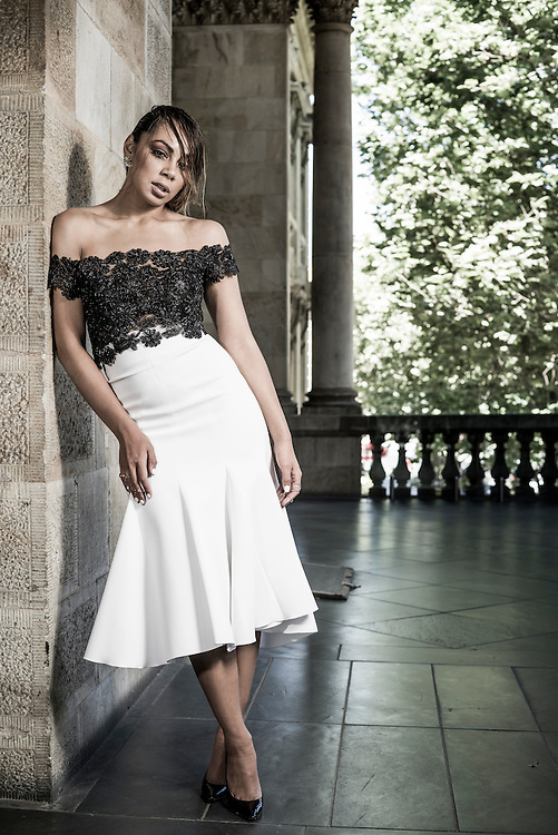 Fashion With Mirells, Prinnie from the Voice at the Adelaide Town Hall. Photo: Nick Clayton