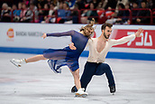 24th March 2018, Mediolanum Forum, Milan, Italy; ISU World Figure Skating Championships Milan 2018; Gabriella Papadakis and Guillaume Cizeron winners of the gold medal