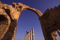 SIRIA - sito di Palmira(Tadmor)
