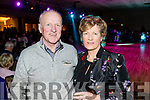 Paudie and Margaret O'Shea, enjoying the atmosphere at the Kerins O'Rahillys Strictly Come Dancing, held at the Brandon Hotel, Tralee on Saturday night last.