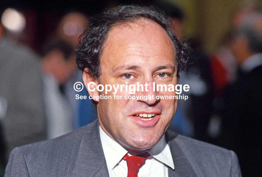 Gary Waller, MP, Conservative Party, UK, 19871011GW.<br />