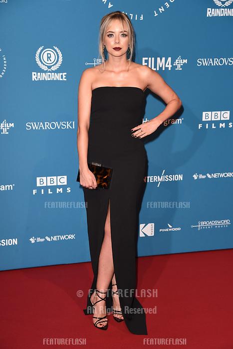 LONDON, UK. December 02, 2018: Sascha Parkinson at the British Independent Film Awards 2018 at Old Billingsgate, London.<br /> Picture: Steve Vas/Featureflash