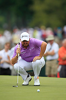 Shane LOWRY (IRL) on the 1st green during Thursday's Round 1 of the 2014 PGA Championship held at the Valhalla Club, Louisville, Kentucky.: Picture Eoin Clarke, www.golffile.ie: 7th August 2014