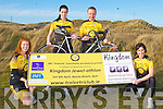KINGDOM JEWEL-ATHLON: Launching the Tralee Triathlon Club Kingdom Jewel-athlon in support of Banna Sea Rescue to be held on Saturday the 9th of April at Banna Strand at 2pm l-r: Lorraine O'Halloran, Alison Reidy, Fergus McCarthy and Marie-Louise Sheehy...