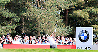 Richard Bland (ENG) on the 12th during round 3 of the 2016 BMW PGA Championship. Wentworth Golf Club, Virginia Water, Surrey, UK. 28/05/2016.<br /> Picture Fran Caffrey / Golffile.ie<br /> <br /> All photo usage must carry mandatory copyright credit (© Golffile   Fran Caffrey)
