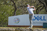 Kevin Kisner (USA) watches his tee shot on 12 during round 1 of the World Golf Championships, Dell Match Play, Austin Country Club, Austin, Texas. 3/21/2018.<br /> Picture: Golffile | Ken Murray<br /> <br /> <br /> All photo usage must carry mandatory copyright credit (&copy; Golffile | Ken Murray)