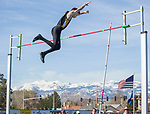 A photograph from the Reed Sparks Rotary Invitational track and field event at Reed High School in Sparks, Saturday, April 1, 2017.