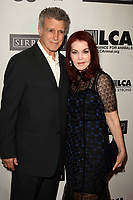 LOS ANGELES - OCT 19:  Chris DeRose, Priscilla Presley at the Last Chance for Animals' 35th Anniversary Gala at the Beverly Hilton Hotel on October 19, 2019 in Beverly Hills, CA