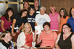 Tina Sloan and fans and her book Changing Shoes - Actors and fans have fun - Day 3 - August 2, 2010 - So Long Springfield at Sea - Carnival's Glory (Photos by Sue Coflin/Max Photos)
