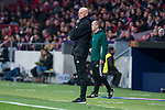 FC Copenhague coach Stale Solbakken during Europa League match between Atletico de Madrid and FC Copenhague at Wanda Metropolitano in Madrid , Spain. February 22, 2018. (ALTERPHOTOS/Borja B.Hojas)