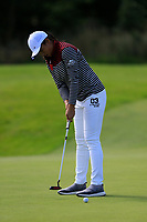Ruoning Yin (PRC) during final day of the World Amateur Team Championships 2018, Carton House, Kildare, Ireland. 01/09/2018.<br /> Picture Fran Caffrey / Golffile.ie<br /> <br /> All photo usage must carry mandatory copyright credit (&copy; Golffile | Fran Caffrey)