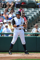 Trenton Thunder outfielder Ramon Flores (20) during game against the Richmond Flying Squirrels at ARM & HAMMER Park on June 9 2013 in Trenton, NJ.  Trenton defeated Richmond 3-2.  Tomasso DeRosa/Four Seam Images