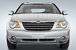 Straight front view of a 2008 Chrysler Pacifica.