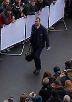 Australia's Head Coach Michael Cheika arrives at the ground<br /> <br /> Photographer Bob Bradford/CameraSport<br /> <br /> 2018 Quilter Internationals - England v Australia - Saturday 24th November 2018 - Twickenham - London<br /> <br /> World Copyright &copy; 2018 CameraSport. All rights reserved. 43 Linden Ave. Countesthorpe. Leicester. England. LE8 5PG - Tel: +44 (0) 116 277 4147 - admin@camerasport.com - www.camerasport.com