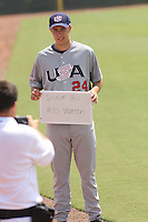 Carter Watson  from Seagle High School in Murfreesboro, Tennessee at the Tournament of Stars event run by USA Baseball at the USA Baseball National Training Complex in Cary, NC on June 23, 2009.  Photo by Robert Gurganus/Four Seam Images