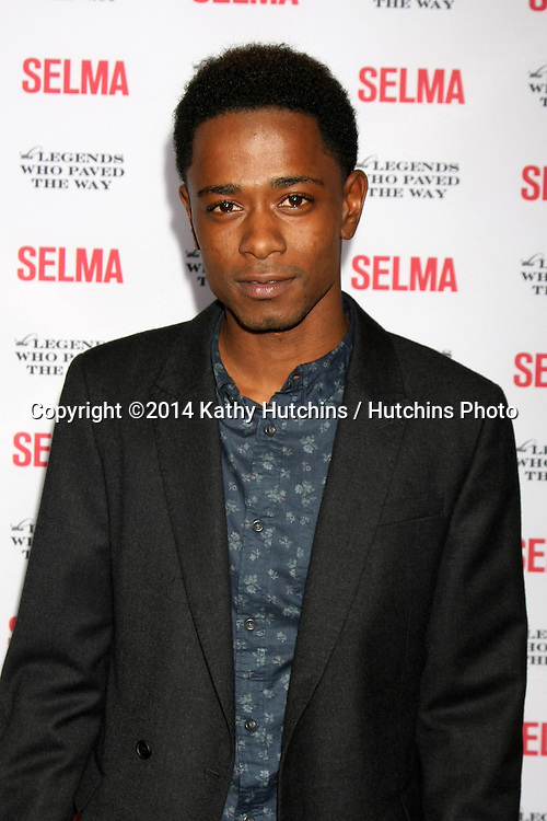 """SANTA BARBARA - DEC 6:  Keith Stanfield at the """"Selma"""" & Legends Who Paved the Way Gala at the Bacara Resort & Spa on December 6, 2014 in Goleta, CA"""