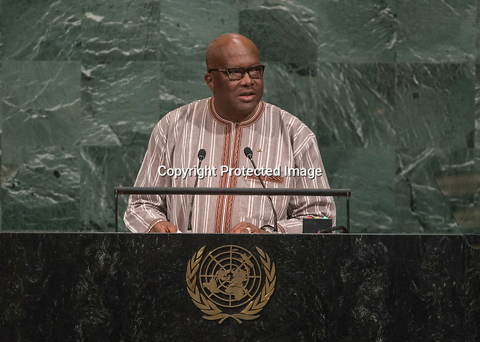 72 General Debate – 20 September <br /> <br /> His Excellency Roch Marc Christian Kaboré, President of Burkina Faso