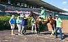Galaxy Express winning at Delaware Park on 7/27/16