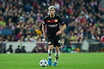 Kevin Kampl of Bayer 04 Leverkusen during the match of Uefa Champions League between Atletico de Madrid and Bayer Leverkusen at Vicente Calderon Stadium  in Madrid, Spain. March 15, 2017. (ALTERPHOTOS / Rodrigo Jimenez)