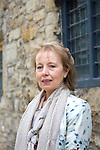 Jane Dunn at Christ Church during the Sunday Times Oxford Literary Festival, UK, 16 - 24 March 2013.<br />