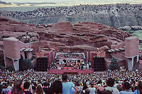 Grateful Dead at the Red Rocks Amphitheatre, Morrison, CO on the 12th of August 1979