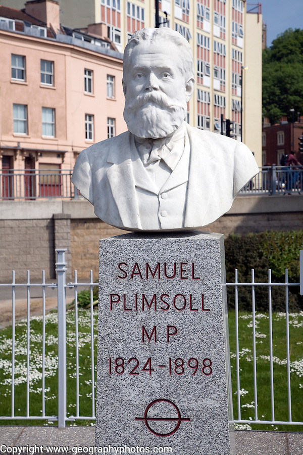Samuel Plimsoll statue, Hotwells, Bristol