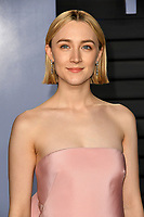 04 March 2018 - Los Angeles, California - Saoirse Ronan. 2018 Vanity Fair Oscar Party hosted following the 90th Academy Awards held at the Wallis Annenberg Center for the Performing Arts. <br /> CAP/ADM/BT<br /> &copy;BT/ADM/Capital Pictures