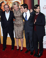 "BURBANK, CA - DECEMBER 09: Paul Giamatti, Emma Thompson, B.J. Novak, Jason Schwartzman arriving at the U.S. Premiere Of Disney's ""Saving Mr. Banks"" held at Walt Disney Studios on December 9, 2013 in Burbank, California. (Photo by Xavier Collin/Celebrity Monitor)"