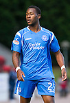 St Johnstone v St Mirren...11.09.10  .New saints signing Jennison Myrie-Williams.Picture by Graeme Hart..Copyright Perthshire Picture Agency.Tel: 01738 623350  Mobile: 07990 594431