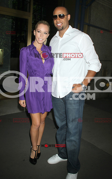 June 05, 2012: Kendra Wilkinson and Hank Baskett at PIX11 Morning News in New York City to discuss her new reality show, 'Kendra On Top'. © RW/MediaPunch Inc. ***NO GERMANY***NO AUSTRIA***