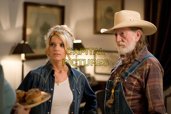 JESSICA SIMPSON & WILLIE NELSON.in The Dukes of Hazzard.*Editorial Use Only*.www.capitalpictures.com.sales@capitalpictures.com.Supplied by Capital Pictures.