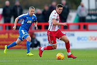 Harry Beautyman of Stevenage during Stevenage vs Notts County, Sky Bet EFL League 2 Football at the Lamex Stadium on 11th November 2017
