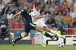 MADRID (15/(09/2010).- Champions League match Real Madrid vs Ajax Amsterdam. Cristiano Ronaldo and Demy de Zeeuw...Photo: Cesar Cebolla / ALFAQUI