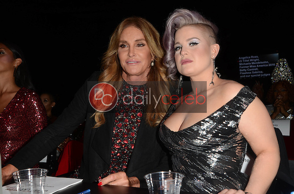 Caitlyn Jenner, Kelly Osbourne<br /> at the TransNation Miss Queen USA Pageant, Ace Hotel, Los Angeles, CA 10-22-16<br /> David Edwards/DailyCeleb.com 818-249-4998