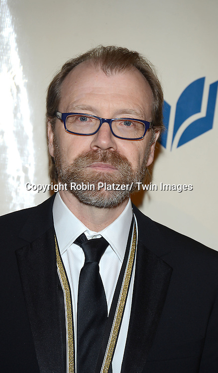 George Saunders attends the 2013 National Book Awards Dinner and Ceremony on November 20, 2013 at Cipriani Wall Street in New York City.