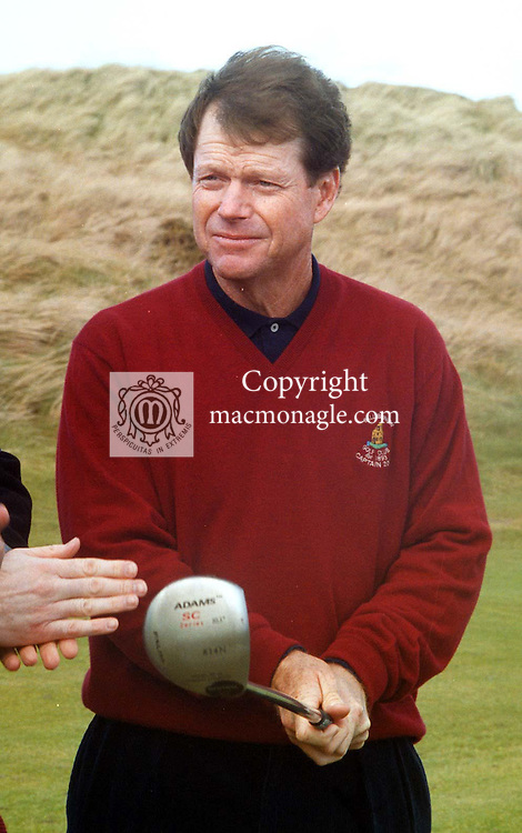 Tom Watson, Captain of Ballybunion Golf Club for 2000 pictured at the County Kerry course ..©Picture by Don MacMonagle.6 Port Road, Killarney Co. Kerry, Ireland.Tel: 00-353+64+32833