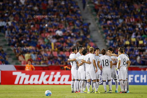 Japan National Team Group (JPN), SEPTEMBER 6, 2016 - Football / Soccer : FIFA World Cup Russia 2018 Asian Qualifier Final Round Group B match between Thailand 0-2 Japan at Rajamangala National Stadium, Bangkok, Thailand. (Photo by Yusuke Nakanishi/AFLO SPORT)