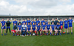The Clare team before their National League game against Roscommon at Cusack Park. Photograph by John Kelly.