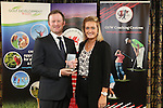Golf Union Wales Awards 2014<br /> Jamie Donaldson &amp; Amy Boulden<br /> 07.01.15<br /> &copy;Steve Pope -SPORTINGWALES