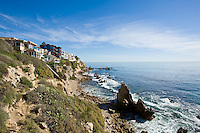 Southern Orange County California Coastline in Corona Del Mar