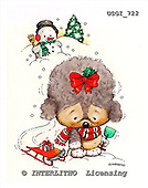 GIORDANO, CHRISTMAS ANIMALS, WEIHNACHTEN TIERE, NAVIDAD ANIMALES, paintings+++++,USGI722,#XA#