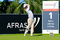Gavin Moynihan (IRL) during previews for the Afrasia Bank Mauritius Open played at Heritage Golf Club, Domaine Bel Ombre, Mauritius. 29/11/2017.<br /> Picture: Golffile | Phil Inglis<br /> <br /> <br /> All photo usage must carry mandatory copyright credit (&copy; Golffile | Phil Inglis)