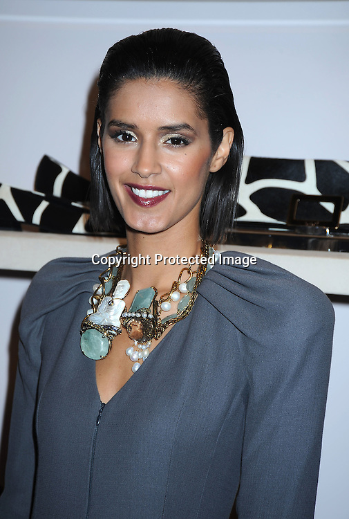 Jaslene Gonzalez at Fashion's Night Out at Roger Vivier  on September 10, 2010 in New York City.