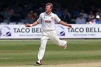 Neil Wagner of Essex goes close to a wicket during Essex CCC vs Warwickshire CCC, Specsavers County Championship Division 1 Cricket at The Cloudfm County Ground on 21st June 2017