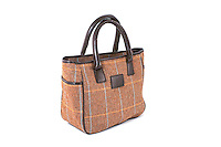 Allegra British Ladies Tweed Tote Bag