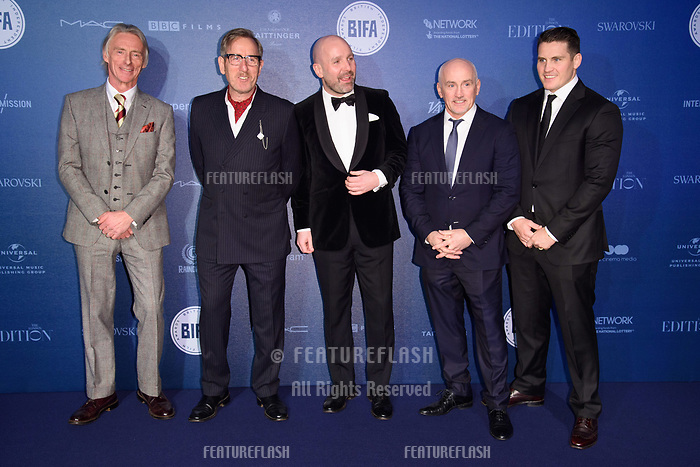 Paul Weller, Michael Smiley, Johnny Harris, Barry McGuigan at the British Independent Film Awards 2017 at Old Billingsgate, London, UK. <br /> 10 December  2017<br /> Picture: Steve Vas/Featureflash/SilverHub 0208 004 5359 sales@silverhubmedia.com