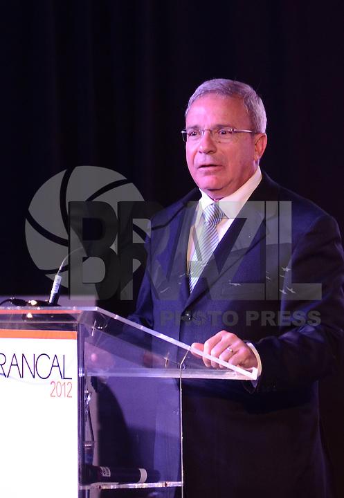 SAO PAULO, 26 DE JUNHO DE 2012 - ABERTURA FRANCAL 2012 - Presidente da  Francal Abdala Jamil Abdala em Cerimonia de abertura da Francal 2012, na manha desta terca feira, no Anhembi, regiao norte da capital. FOTO: ALEXANDRE MOREIRA - BRAZIL PHOTO PRESS