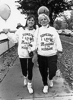 First Jane Doe Walk for Women's Safety in Boston MA 1992