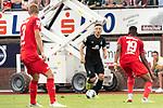 20.07.2019, Heinz Detmar Stadion, Lohne, Interwetten Cup 1. FC Köln vs SV Werder Bremen<br /> <br /> im Bild / picture shows <br /> <br /> Kevin Möhwald / Moehwald (Werder Bremen #06)<br /> Kingsley Ehizibue (Koeln #19)<br /> <br /> Foto © nordphoto / Kokenge