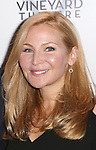 Jennifer Westfeldt attend the Off-Broadway opening Night Performance of 'Billy & Ray' at the Vineyard Theatre on October 20, 2014 in New York City.